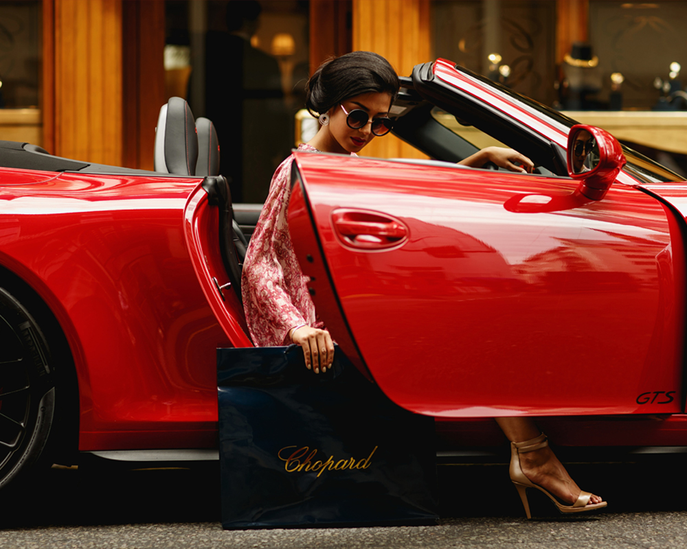 A Day In Mayfair with Porsche