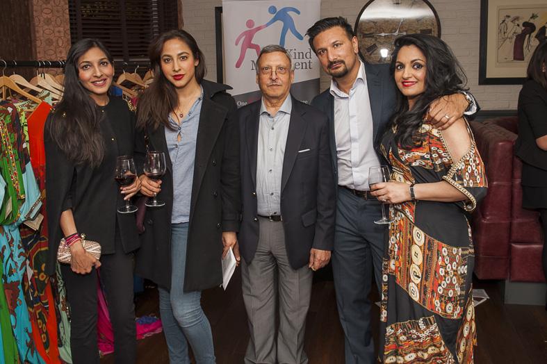 Natasha Bhandari, Sheena Bhattessa, Mr Bhattessa, Shavy Makh, Premila Puri Makh