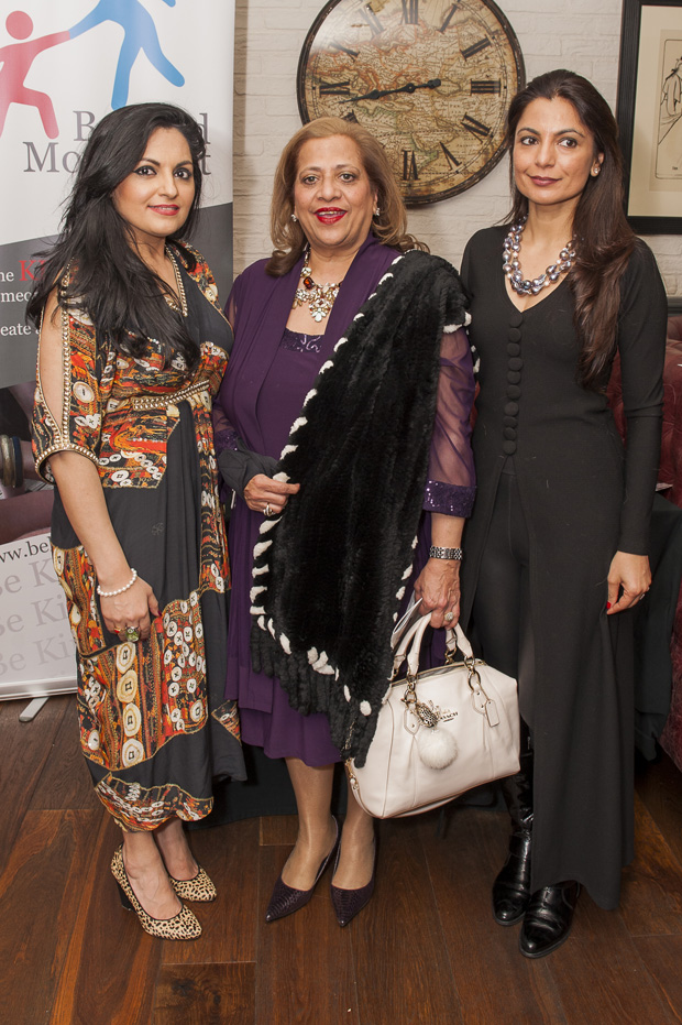 Premila Puri Makh, Seema Kumar, Rubina Kapoor