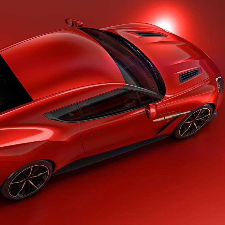Aston Martin: Unveils Vanquish Zagato Concept