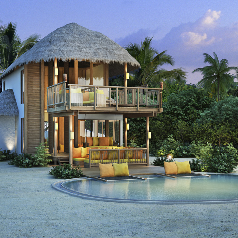 Maldives Luxury Homes: Escape To The Maldives