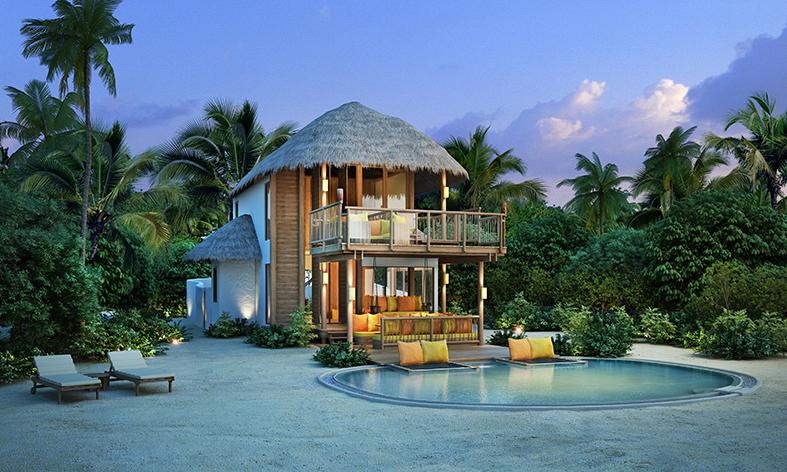 1BR_Beach Villa Front