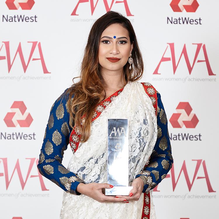 Chairperson's Award, Fatima Zaman